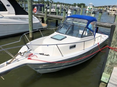 1999 BAYLINER TROPHY 2352 WALKAROUND